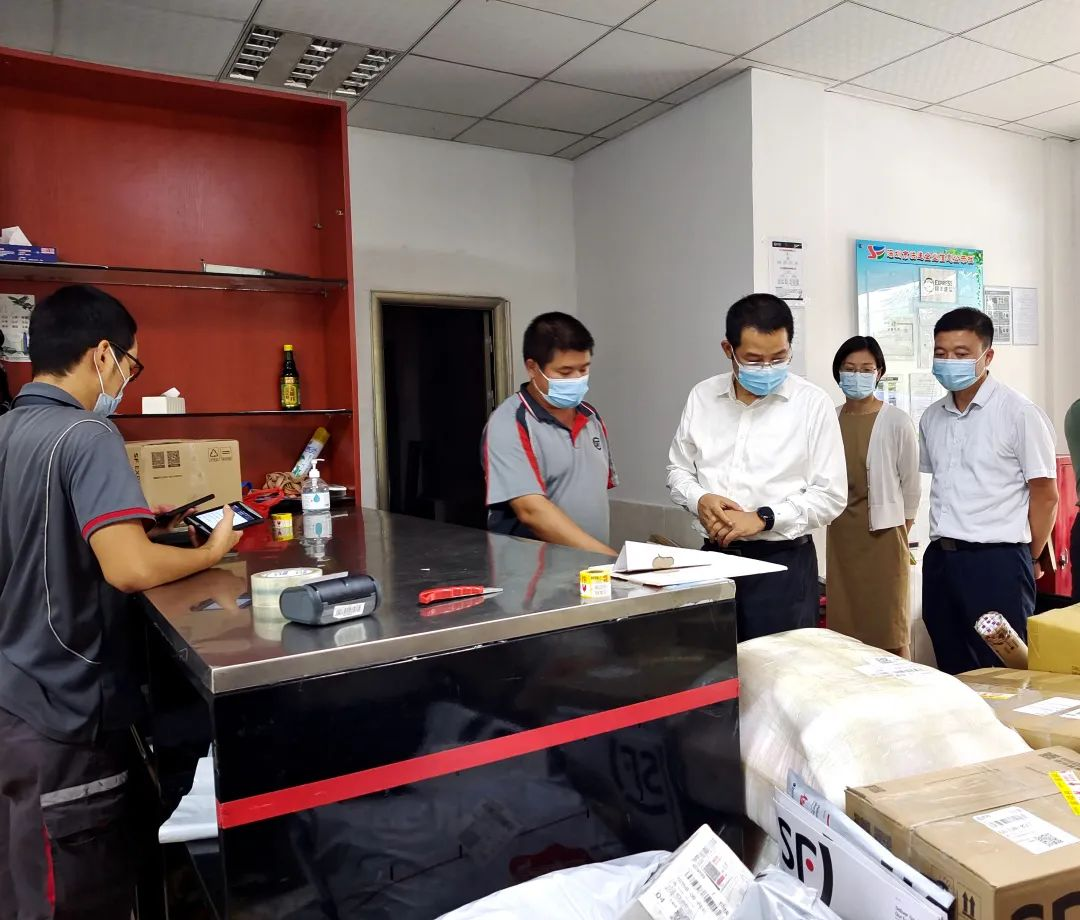 石井街道探索党建引领快递物流行业服务基层治理