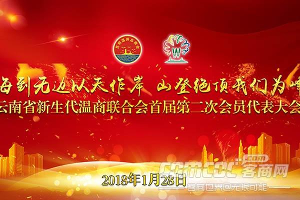 云南省新生代温商联合会首届第二次会员代表大会