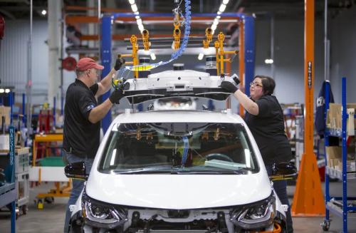 车企持续缺芯,通用汽车预计下半年减产20万