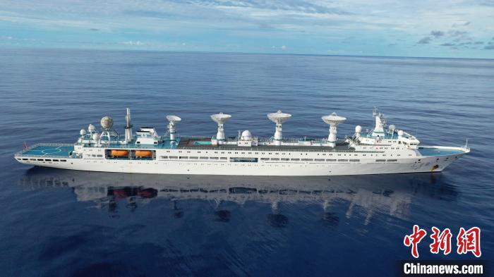 远望6号船圆满完成高光谱观测卫星发射海上测控任务