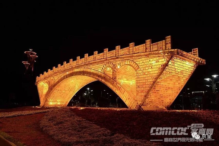 """""""一带一路""""时间下的北京夜景刷爆你的朋友圈"""