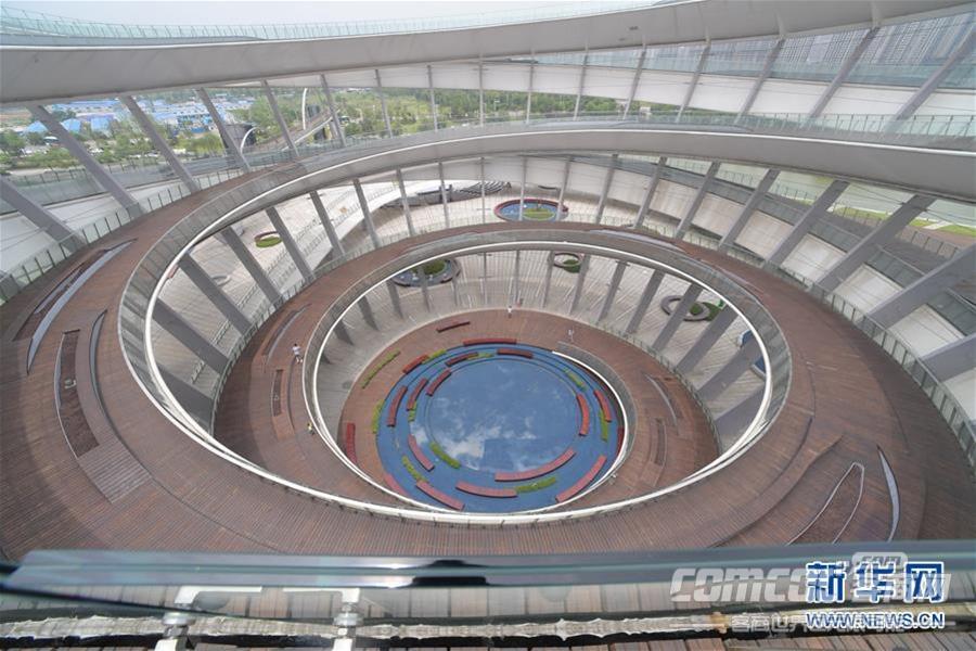 长沙梅溪湖城市岛双螺旋观景平台对外开放