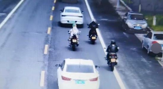 """郊区整治摩托车""""跑山"""" 启用无人机精准取证"""