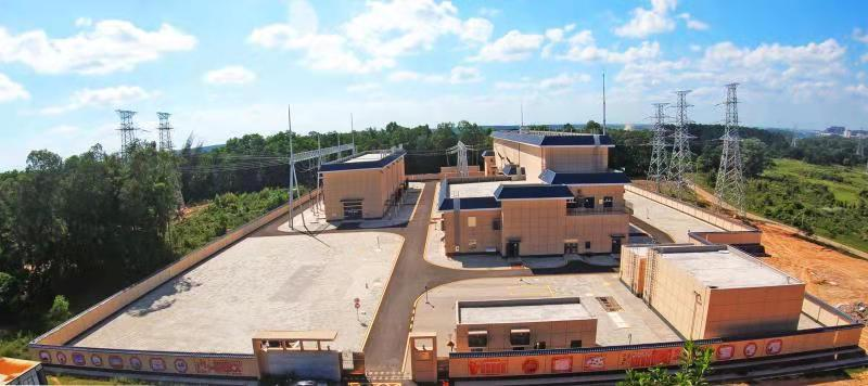 一天两项目投产 海南电网加快项目建设
